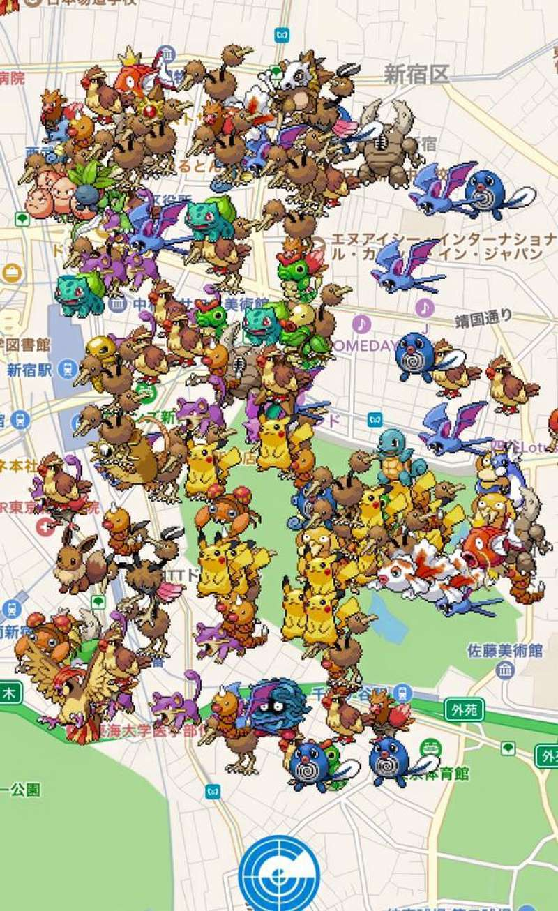 10 Best Places for Pokémon Go in Tokyo