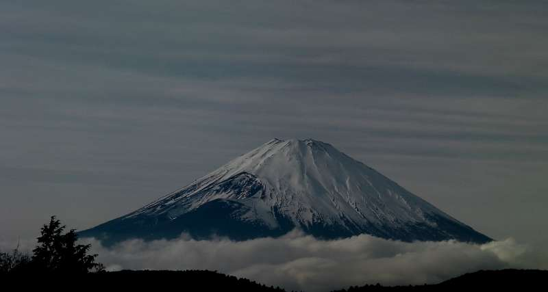When is the best time to view Mt. Fuji from Hakone?
