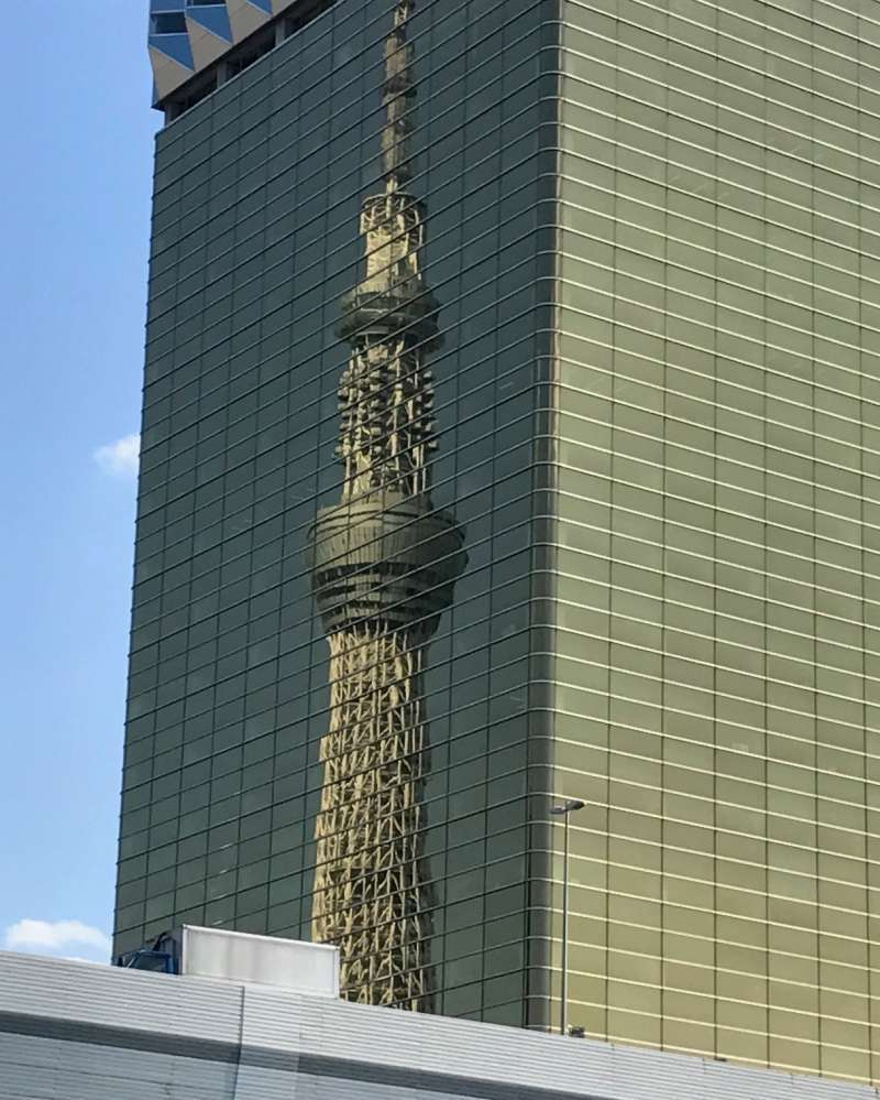 Fancy ramen and good luck with money on the way from Tokyo Skytree to Asakusa