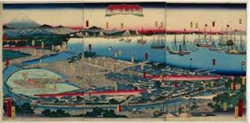 The Arrival of Black Ships and Japan's diplomacy 黒船来航と日本の外交 (2-10)