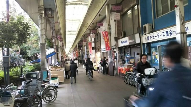 Getting in touch with local life in Kyoto