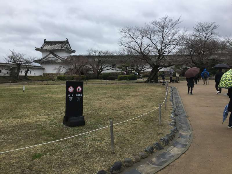 Himeji Castle As UNESCO World Heritage At The First Time In Japan