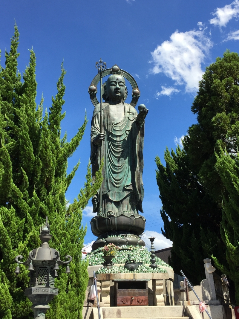 The Summer Festival Days of JIZO (地蔵) Who Loves Children Have Just Started from Today (22nd to 25th