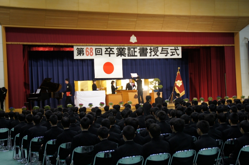 Welcome to the Japanese SCHOOL -VISITING is believing- ⑥School Events - Graduation Ceremony