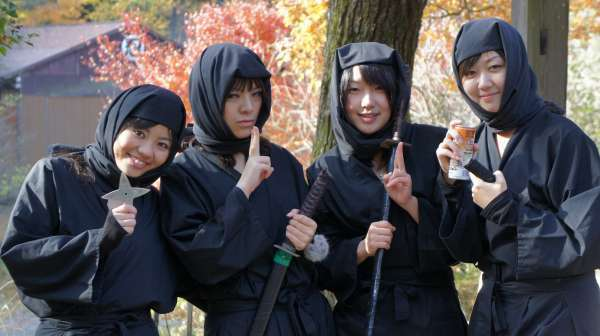 Four Places to Train as a Ninja in Japan