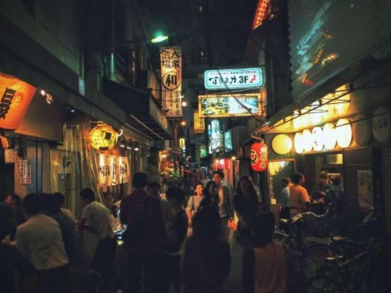 Ura Namba - backstreet shops, bars and restaurants