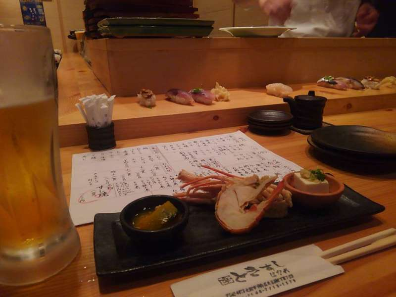 Sushi, not on the belt