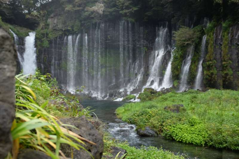 Shiraito Waterfalls (a UNESCO World Heritage site)