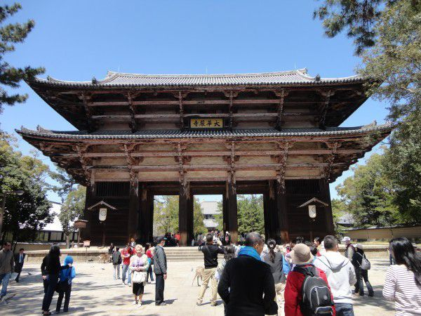 Nan-daimon or ehe great Southe Gate at Todaji Temple