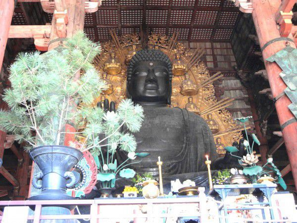 The Great Image of Buddha at Todaiji Temple