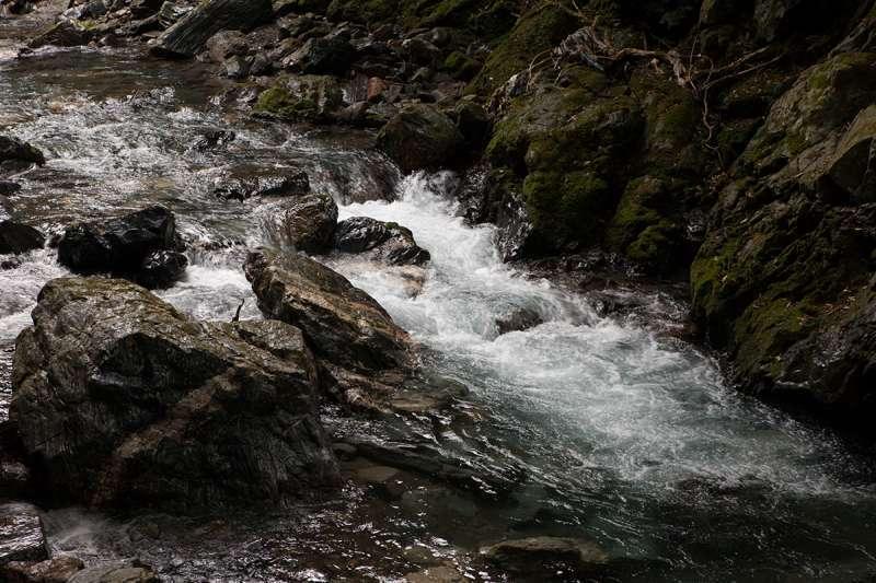 Rapids of the Kiyotaki River
