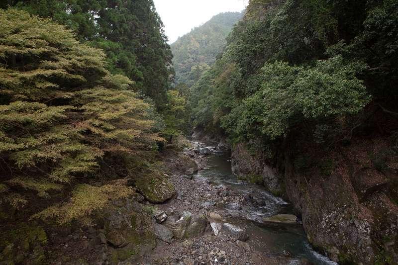 The KIyotaki River ravine
