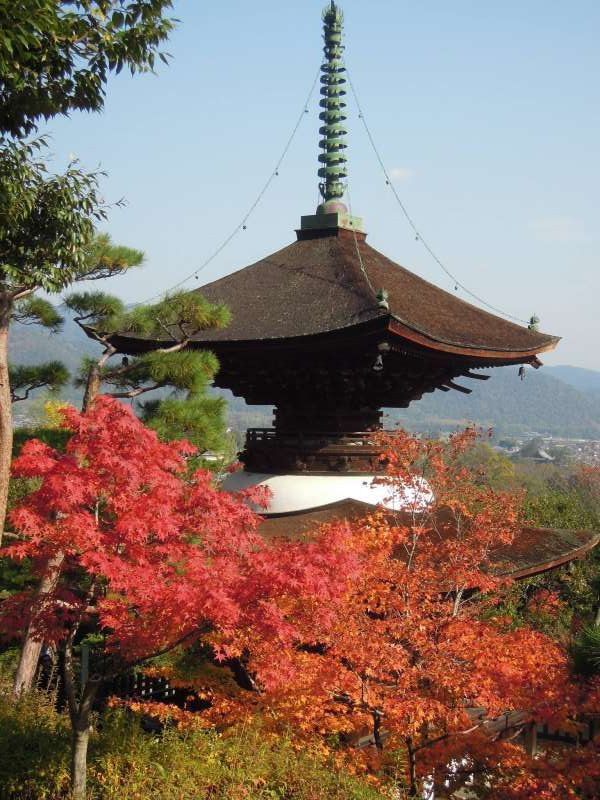 Taho-to Pagoda of Jojako-ji Temple, Arashiyama