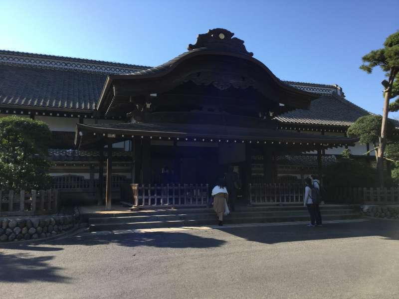 The main building of Kawagoe castle