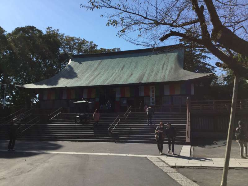 The worship hall of Kita-In temple