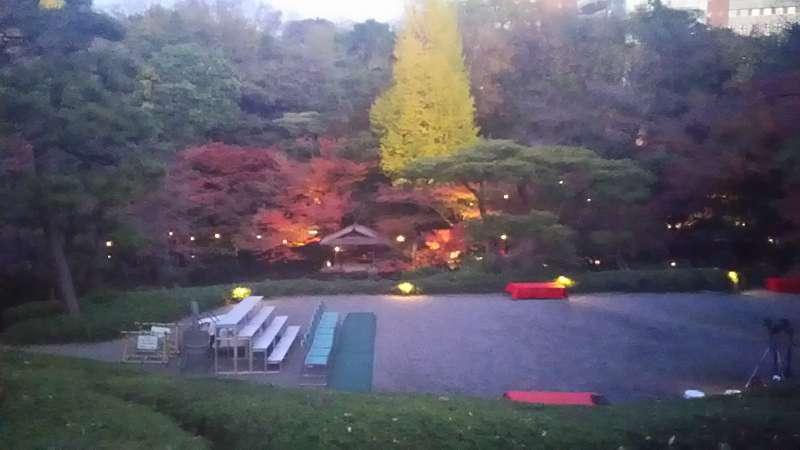Garden of Happoen in Autumn