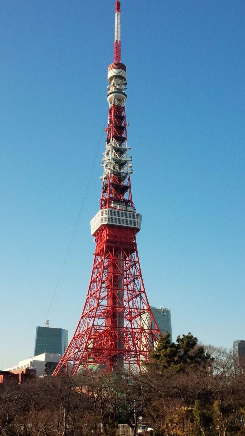 Tokyo Tower is still the landmark of Tokyo, overlooking whole city of Tokyo.