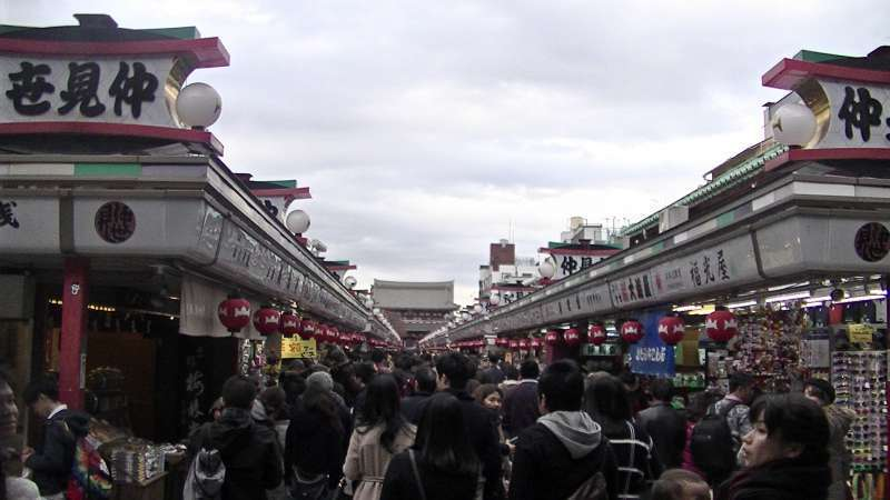 Nakamise street, Asakusa