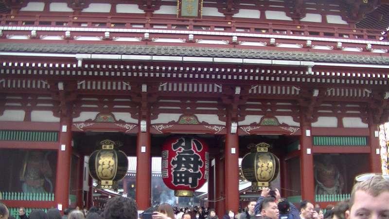 Sensoji temple, Akasaka