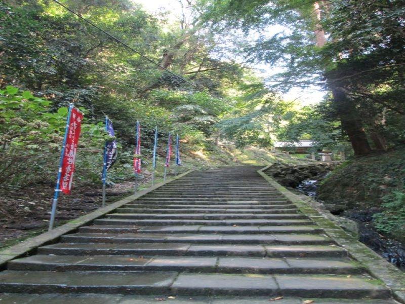 The steps to Kiyomizudera-Temple