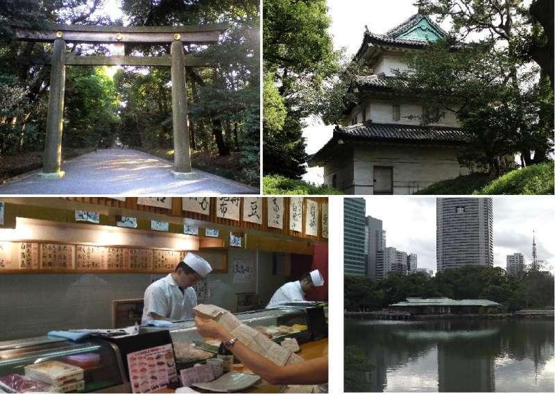 Tokyo tour a la carte half day