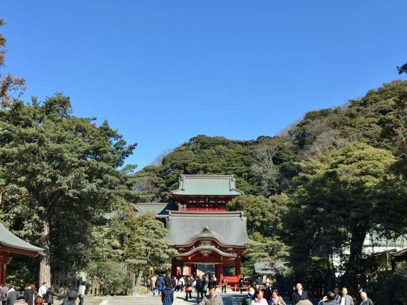 Tsurugaoka Hachimangu Shrine, located in the center of Kamakura, in Central Kamakura Area