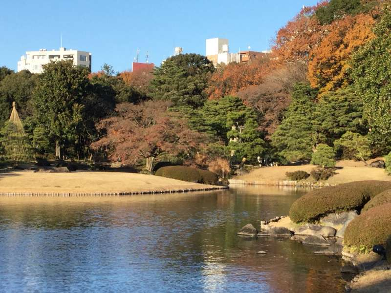 4b. Rikugien Garden (Main pond with views of Japanese poems)