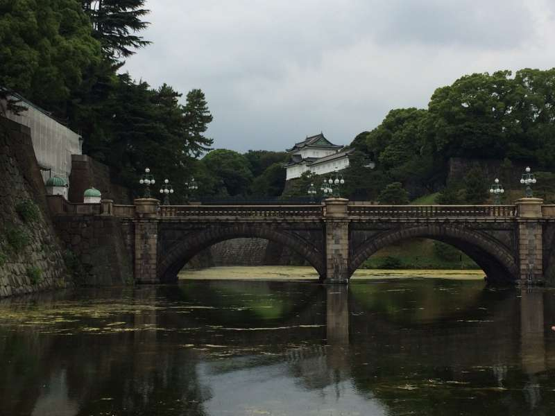 Double Bridge  at the Imperial Palace Ground