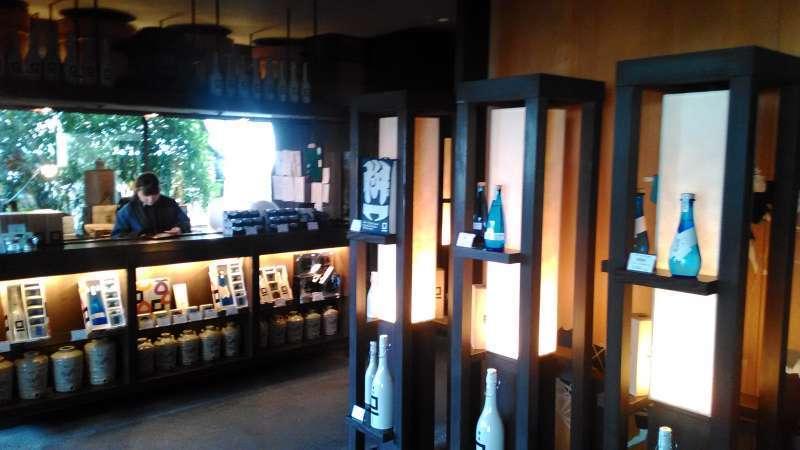 SAKE brewery in Obuse