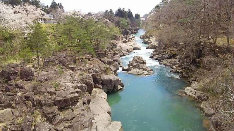 Beautiful Genbikei Gorge