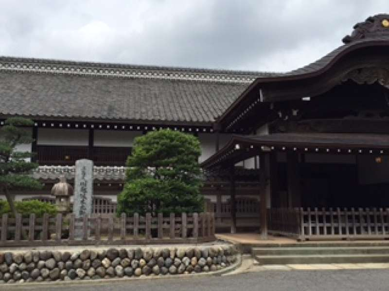Honmaru Goten of Kawagoe Castle. This place has been remained to the present day from Edo period.