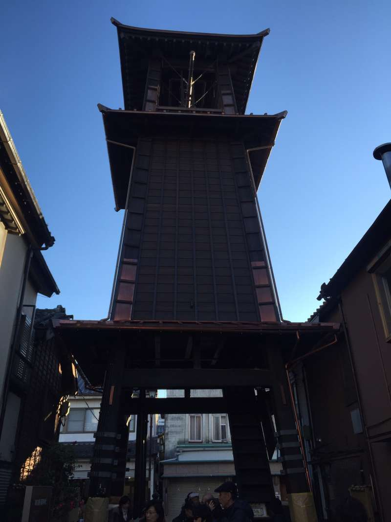 TOKI NO KANE, a symbol of Kawagoe.
