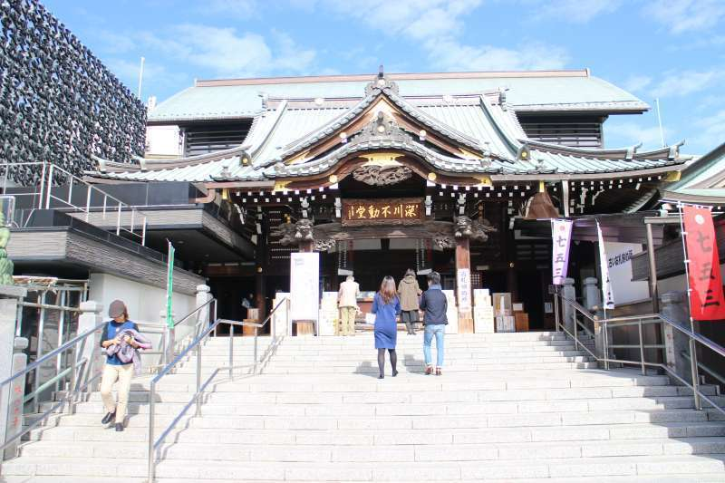 Fukagawa Fudoudou Temple.