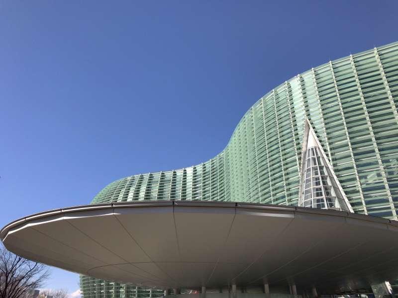 The National Art Center, Tokyo in Roppongi area