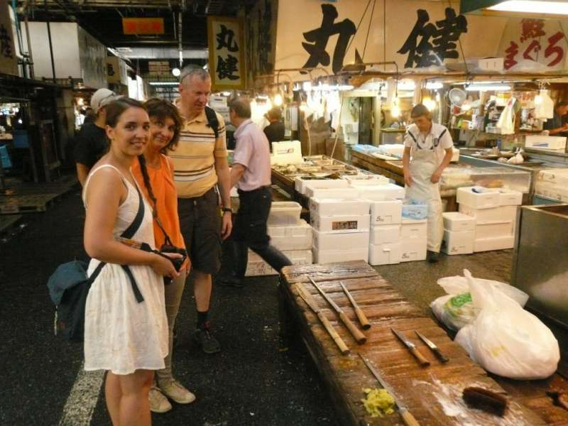 Tsukiji Fish Market Walk ~ let's get into the world's largest market ~