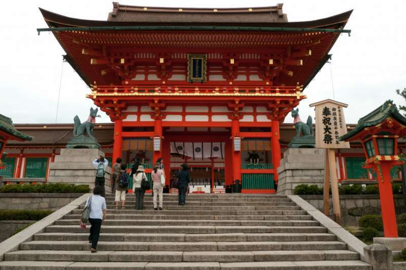 Sake Brewery & Fushimi-Inari Shrine