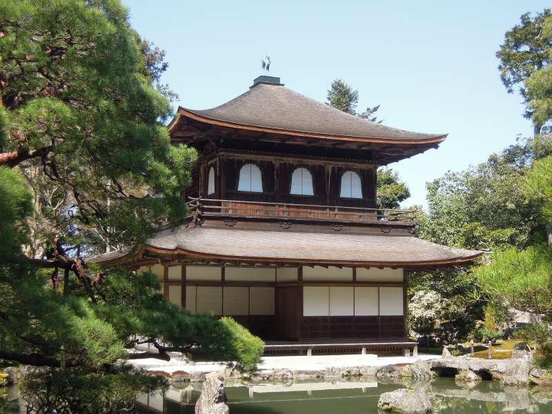 Ginkaku-ji Temple ( the Silver Pavilion )