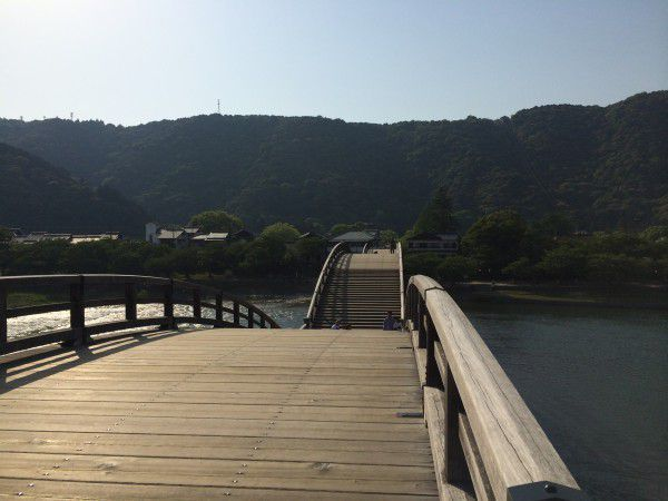 A Japanese bridge for your utopia.