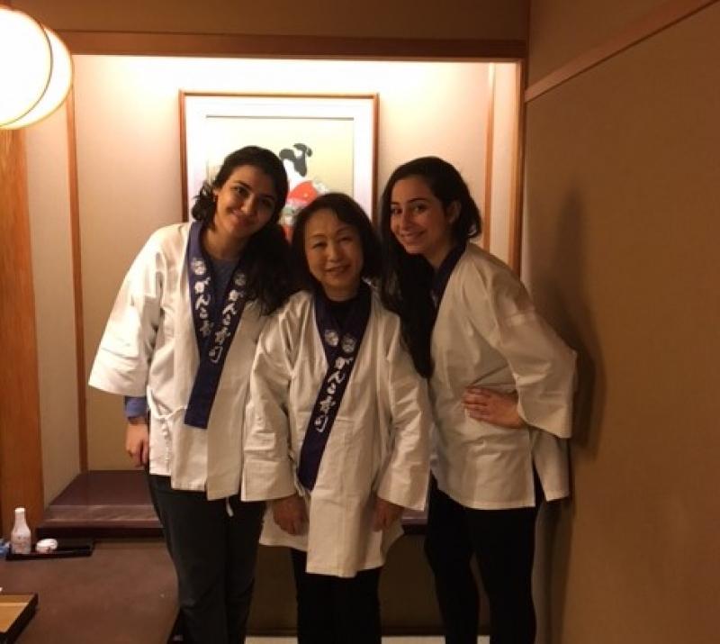 A wonderful ladies from U.A.E.