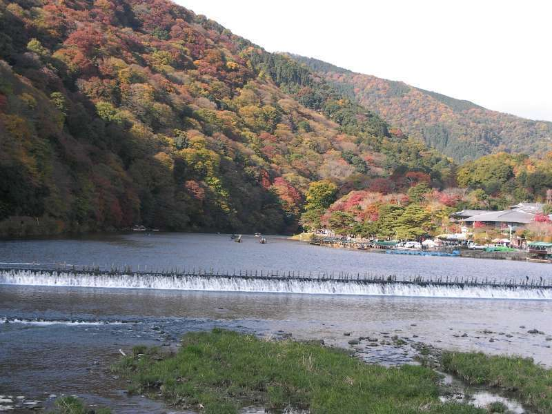 2.Golden: Arashiyama area