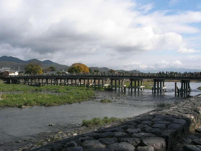 2.Golden: Arashiyama Togetsukyo Bridge