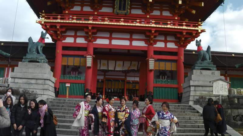 1. Miyabi: Romon Gate of Fushimi-inari Shrine first built in 1589