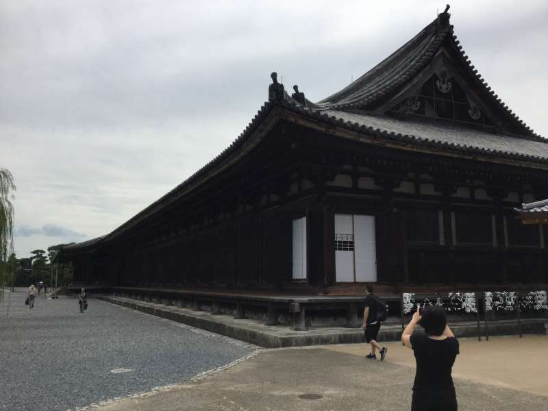 1. Miyabi & 3. History: Sanjysangen-Do Temple first built in 1164
