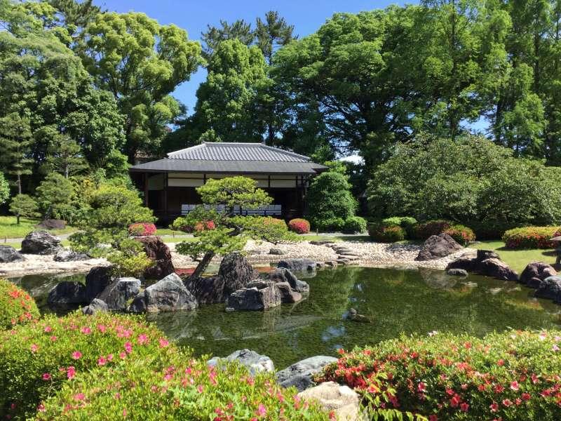 3. History: Seiryu-En Garden of Nijo Castle