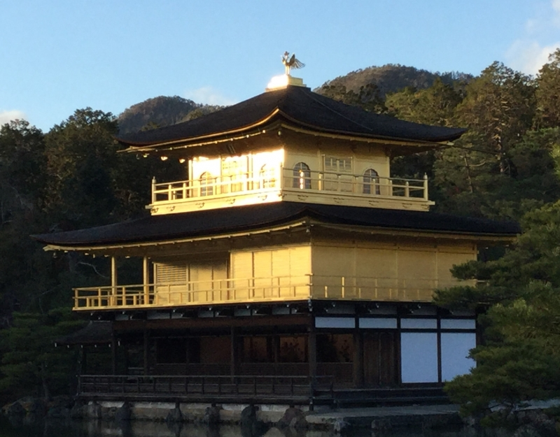 1. Miyabi & 2. Golden: Kinkanku-Ji Temple (The World Heritage)