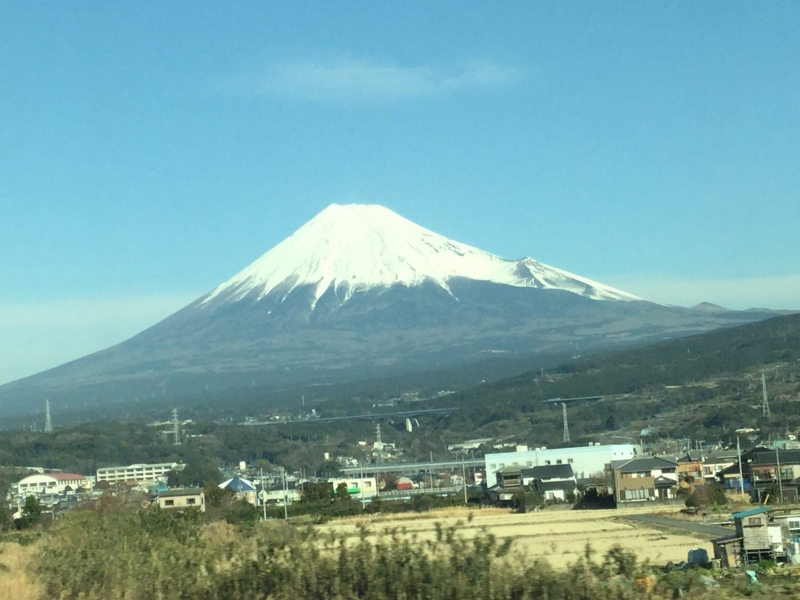 0. Mt. Fuji from the Shinkansen