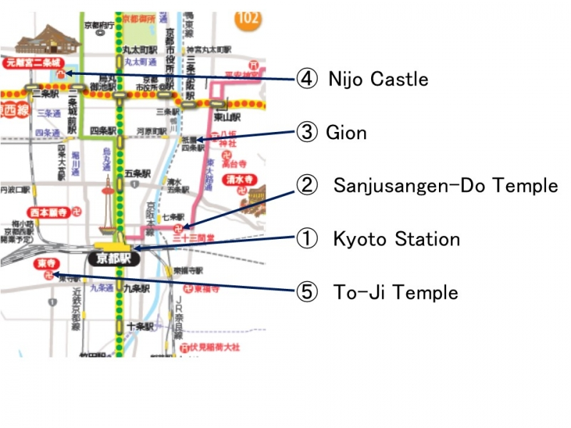 3. Map of History Route