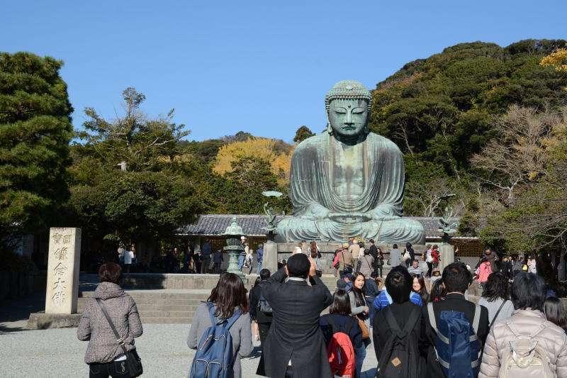 Option free of charge : Daibutsu Giant Buddha (admission fee 200 yen)