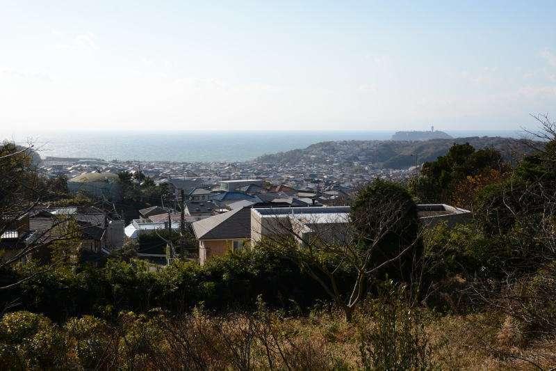 View from Kamakura-yama Mountain