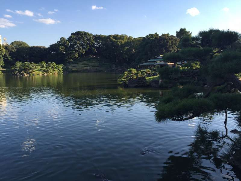 Kiyosumi Garden, the beautiful Japanese stroll garden